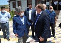 Калиматов посетил  пять избирательных участков Малгобекского района
